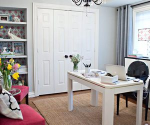 home decor, office, and white image