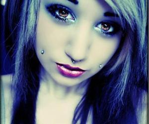 girl, piercing, and vanna venom image