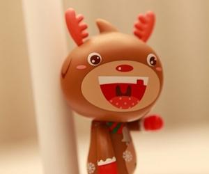 christmas, kawaii, and christmas reindeer image