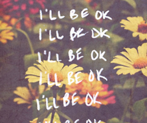 quotes, flowers, and ok image