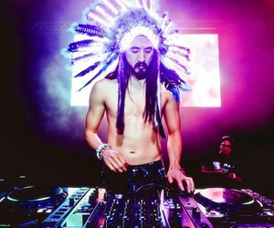 aoki, music, and electric image