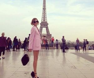 paris, fashion, and pink image