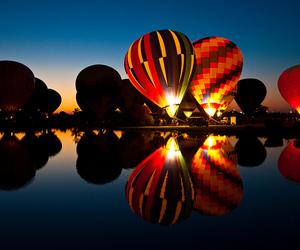 balloons, hot air balloons, and photography image