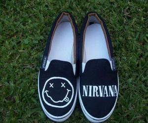 hipster, nirvana, and shoes image