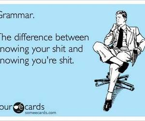 funny, grammar, and text image