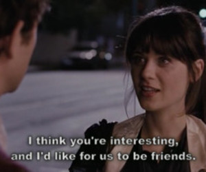 500 Days of Summer, friends, and text image
