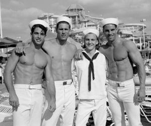 men, man, and sailor image