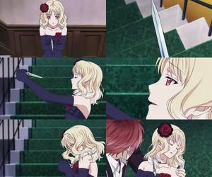 anime, diabolik lovers, and yui komori image