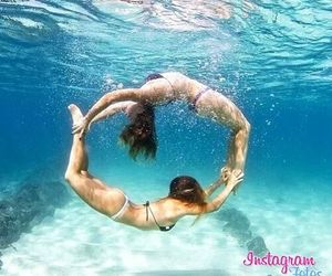 cool, girls, and ocean image