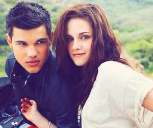 kristen stewart, Taylor Lautner, and twilight image