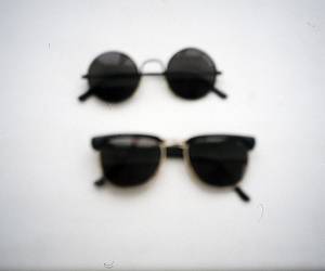 film camera, photography, and sunglasses image