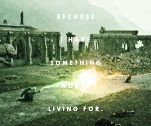 end, quote, and voldemort image