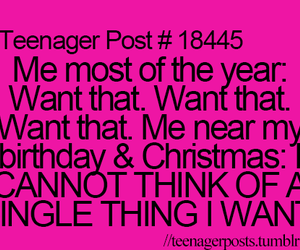 teenager post, christmas, and birthday image