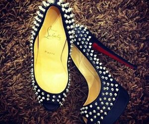 fashion, louboutins, and high heels image