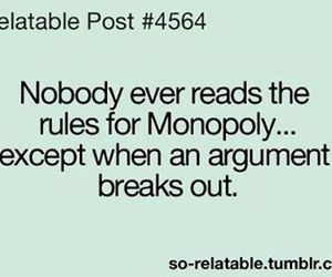 funny, lol, and monopoly image