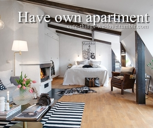 apartment, bed, and have image