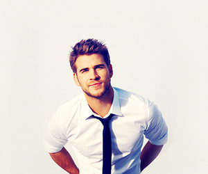 liam hemsworth, boy, and sexy image