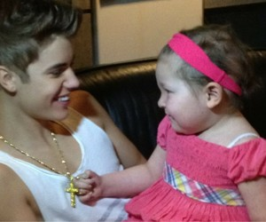 justin bieber and avalanna image