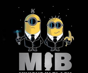minions, despicableme2, and mib image