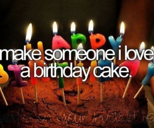 cake, birthday, and love image