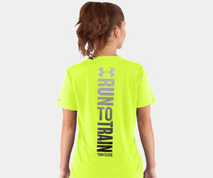 green, under armour, and train to run image