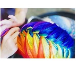 braid, coiffure, and fashion image