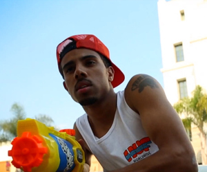 boys, watergun, and lovely day image