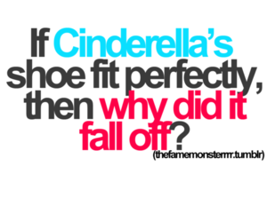 cinderella, quote, and shoe image