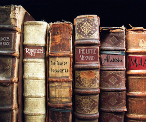 books, dreams, and vintage image