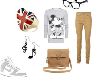 british, jeans, and mickey image