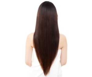 hair, hairstyle, and v cut image