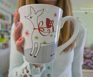 christmas, cup, and tumblr image