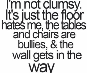 clumsy, funny, and life image