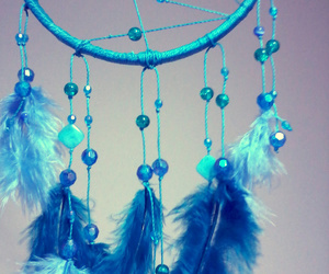 dreamcatcher, handmade, and turquoise image