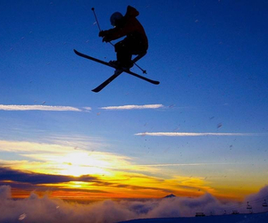 colourful and Skiing image
