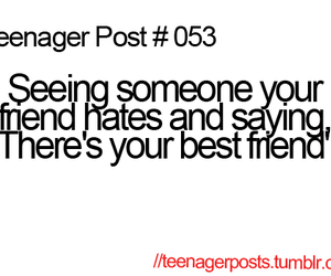 teenager post, funny, and hate image