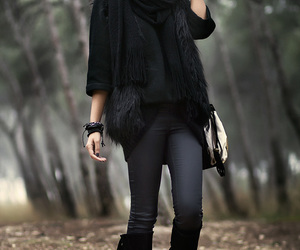 blog, fashion, and outfit image