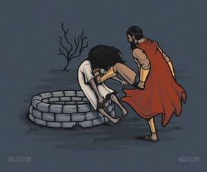 sparta, funny, and The Ring image