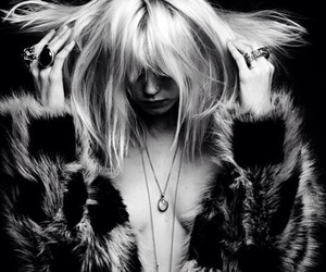 Abbey Lee Kershaw, hedi slimane, and black and white image