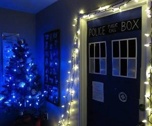 christmas, decorations, and doctor who image