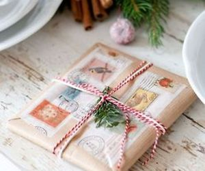 christmas, wrapping, and festive image