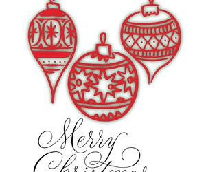 christmas, merry christmas, and green and red image