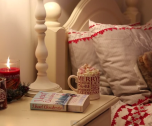 christmas, candle, and zoella image