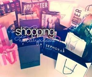 shopping, chanel, and hollister image