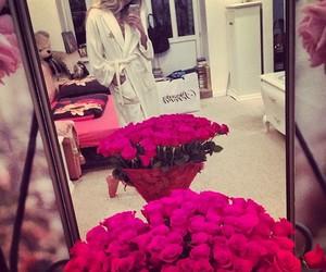 rose, girl, and fashion image