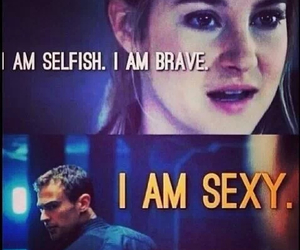 divergent, four, and sexy image
