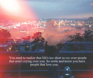 life, quote, and scenery image