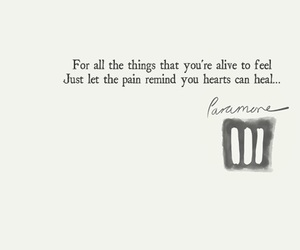 paramore, quote, and love image