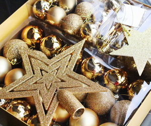 christmas, december, and decorations image