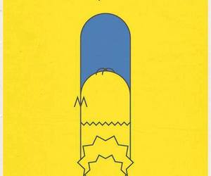 the simpsons, simpsons, and bart image